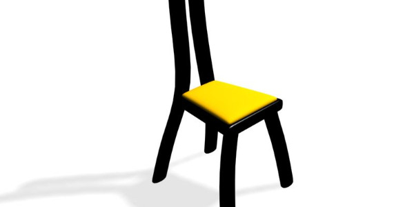 M1 Chair for Poser by Pretty3D