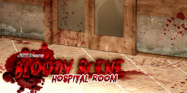 Bloody Scene - Hospital Room by Pretty3D