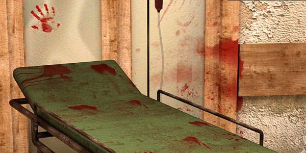 Bloody Scene - Stretcher by Pretty3D