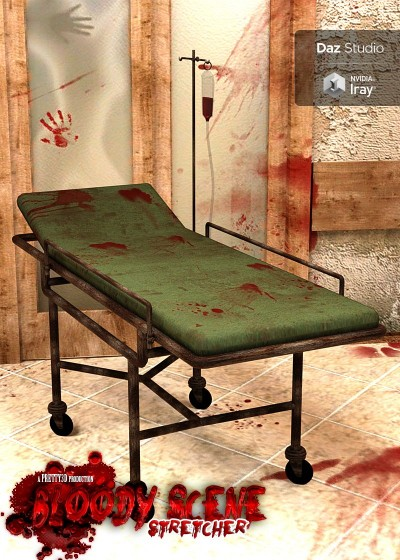 Bloody Scene - Stretcher