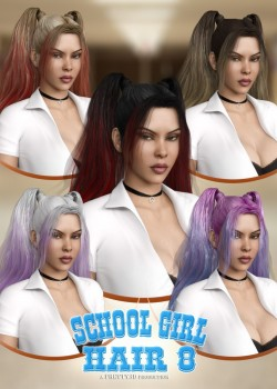 School Girl Hair for Genesis 8 Female(s)