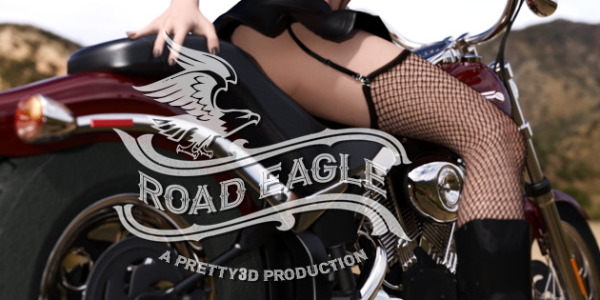 Road Eagle  by Pretty3D