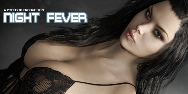 Night Fever for Genesis 3 Female(s) by Pretty3D