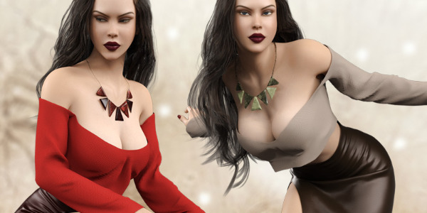 Hot N Cold Clothing Set for Genesis 8 Females by Pretty3D
