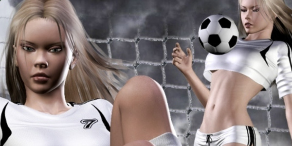 Hot Uniforms Soccer by Pretty3D