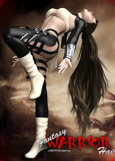 Fantasy Warrior Hair for Genesis 3 Female(s)