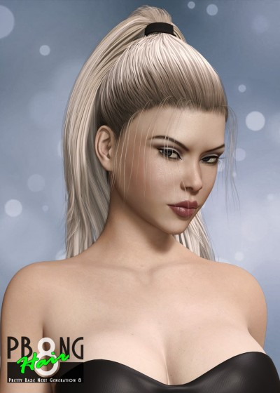 Pretty Base NG 8 Hair for Genesis 8 Female(s)