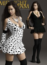 Midnight Dream - Outfit set for Genesis 3 Female(s)