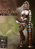 Sweet Pain - Fantasy Outfit Set for Genesis 8 Female(s)
