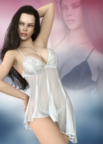 Stay Home Lingerie Set for Genesis 8 Females