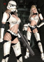 Star Girls - Trooper for Genesis 2 Female(s) and V4